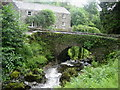 Bridge over Rydal Beck, Rydal Hall
