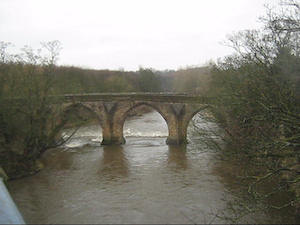 Chester New Bridge, near Lambton Castle