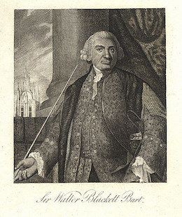 Walter Blackett (1707 - 1777)