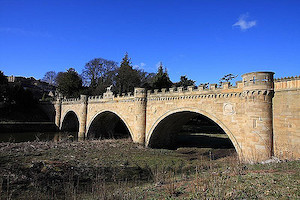 The Lion Bridge, Alnwick