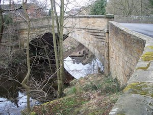 Mitford Bridge, over the River Font