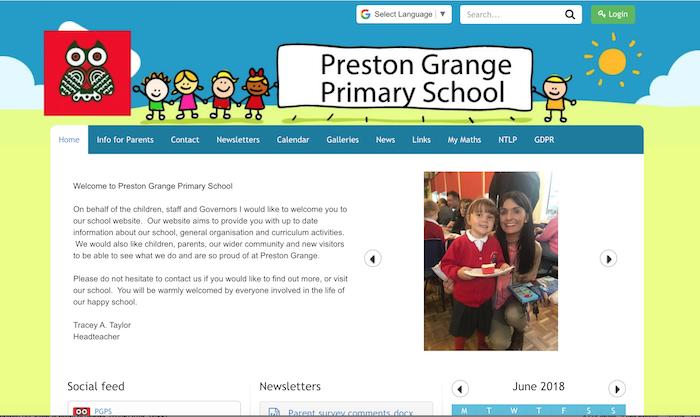 preston school website