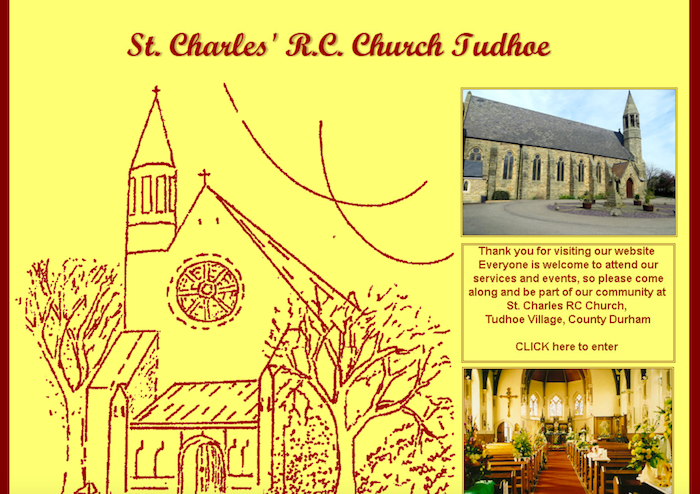 RC Church of St Charles, Tudhoe